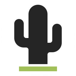 Cactus Icon 256x256