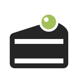 Cake Slice Icon 256x256