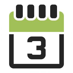 Calendar 3 Icon 256x256