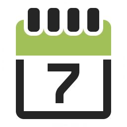 Calendar 7 Icon 256x256