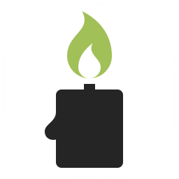 Candle Icon 256x256