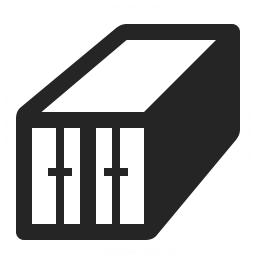 Cargo Container Icon 256x256