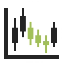 Chart Candlestick Icon 256x256