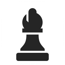 Chess Piece Bishop Icon 256x256