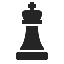 Chess Piece King Icon 256x256