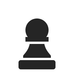 Chess Piece Pawn Icon 256x256