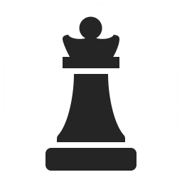 Chess Piece Queen Icon 256x256