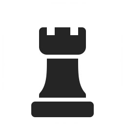 Chess Piece Rook Icon 256x256