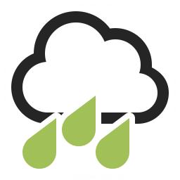 Cloud Rain Icon 256x256