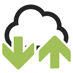 Cloud Updown Icon 256x256