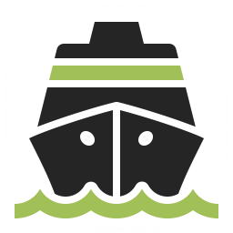 Cruise Ship Icon 256x256