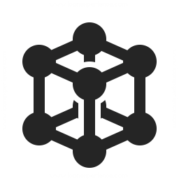 Cube Molecule 2 Icon 256x256