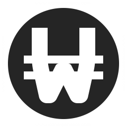 Currency Won Icon 256x256