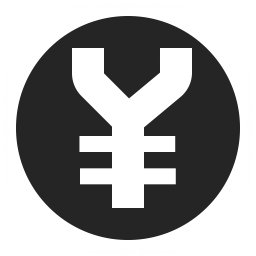 Currency Yen Icon 256x256