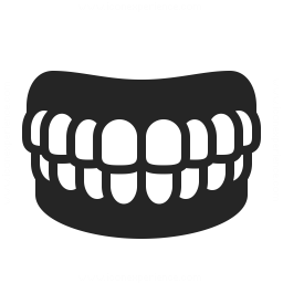 Denture Icon 256x256
