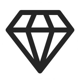 Diamond Icon 256x256