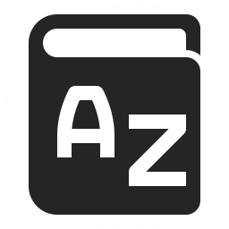 Dictionary Icon 256x256
