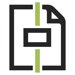 Document Center Horizontal Icon 256x256