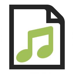 Document Music Icon 256x256