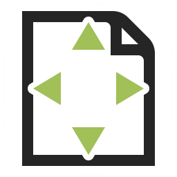 Document Size Icon 256x256