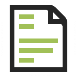 Document Text Icon 256x256