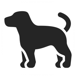 Dog Icon Iconexperience Professional Icons O Collection