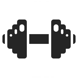 Dumbbell Icon 256x256