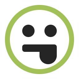 Emoticon Tongue Icon 256x256