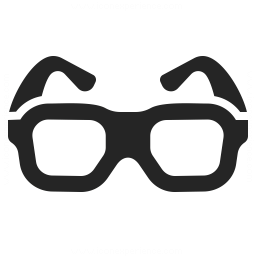 Eyeglasses Icon Iconexperience Professional Icons O Collection