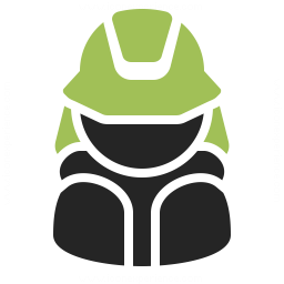 Firefighter Icon 256x256