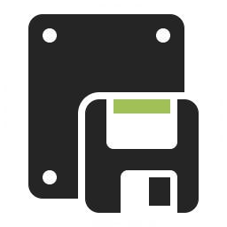 Floppy Drive Icon 256x256