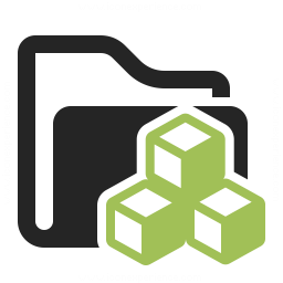 Folder Cubes Icon 256x256