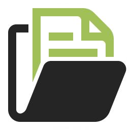 Folder Document Icon 256x256