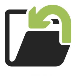 Folder Into Icon 256x256
