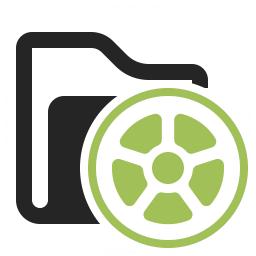 Folder Movie Icon 256x256