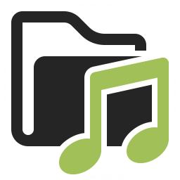 Folder Music Icon 256x256