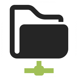 Folder Network Icon 256x256