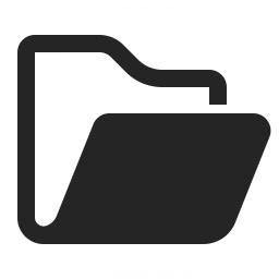 Folder Open Icon 256x256