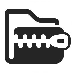 Folder Zip Icon Iconexperience Professional Icons O Collection