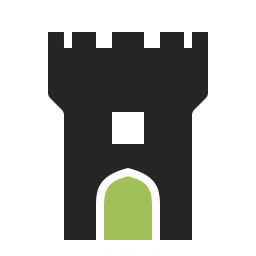 Fortress Tower Icon 256x256