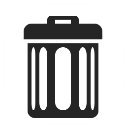 Garbage Can Icon 256x256