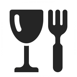 Glass Fork Icon 256x256