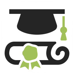 Graduation Hat 2 Icon 256x256