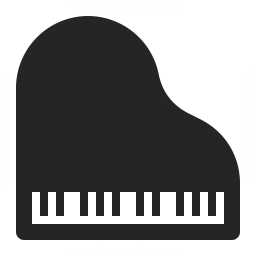 Grand Piano Icon 256x256