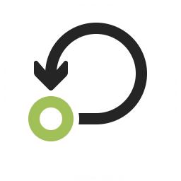 Graph Self Loop Icon 256x256