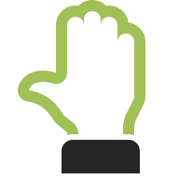 Hand Stop 2 Icon 256x256