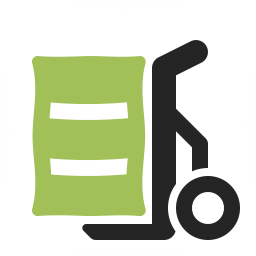 Hand Truck Bag Icon 256x256