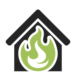 Home Fire Icon 256x256