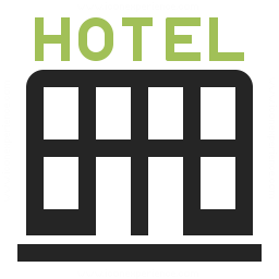 Hotel Icon Iconexperience Professional Icons O Collection