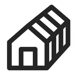 House Framework Icon 256x256